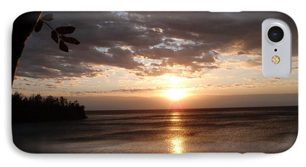 IPhone Case featuring the photograph Shimmering Sunrise by James Peterson
