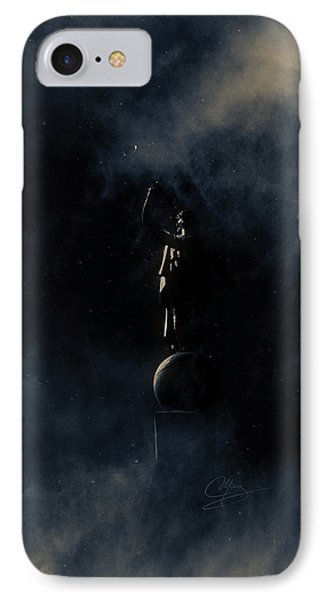 Shine Forth In Darkness IPhone Case by Greg Collins