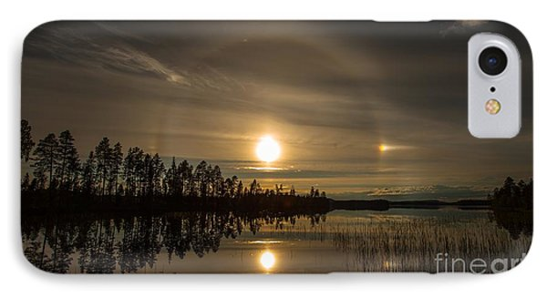 IPhone Case featuring the photograph shine like a Halo by Rose-Maries Pictures