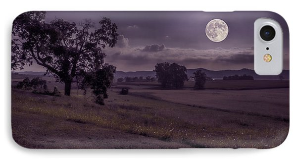 IPhone Case featuring the photograph Shine On Harvest Moon by Jaki Miller