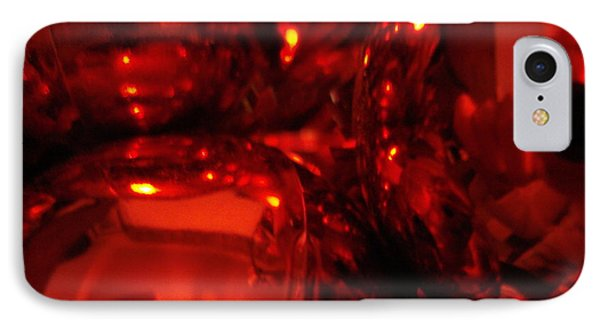 Shiney Red Ornaments One IPhone Case