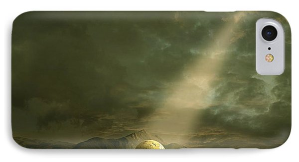 IPhone Case featuring the painting Shining by Franziskus Pfleghart