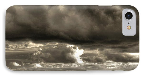IPhone Case featuring the photograph Shining Through by Greg DeBeck