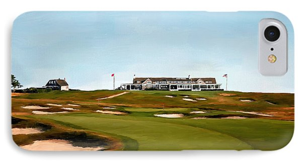 Shinnecock Hills Golf Club IPhone Case by Scott Melby