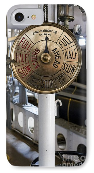 Ship Control Telegraph Phone Case by Steven Ralser