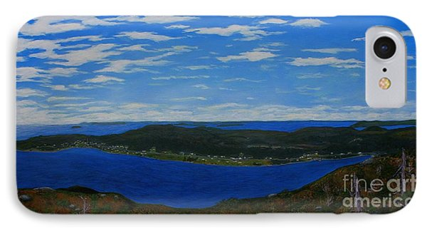 Ship Harbour From Sugarloaf Hill Phone Case by Barbara Griffin