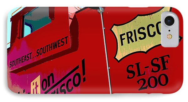 Ship It On The Frisco IPhone Case by Deena Stoddard