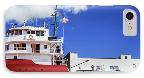 Ship Museum At A Harbor, William A IPhone Case