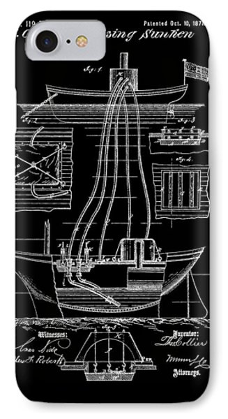 Ship Recovery Patent IPhone Case