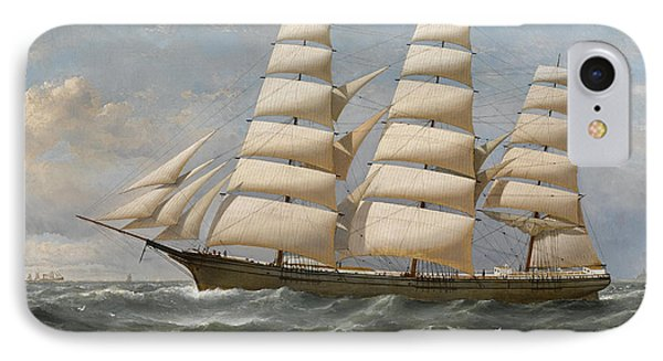 Ship IPhone Case by Samuel Walters