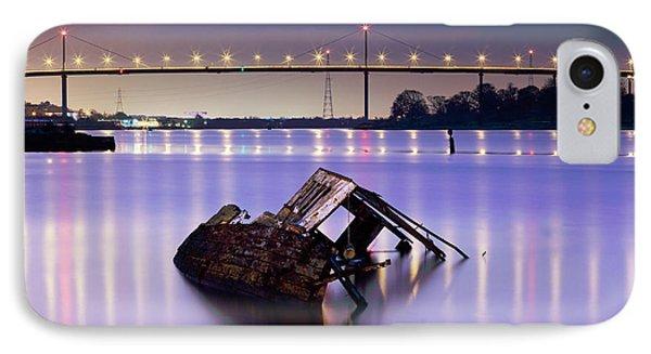Ship Wreck Phone Case by Grant Glendinning