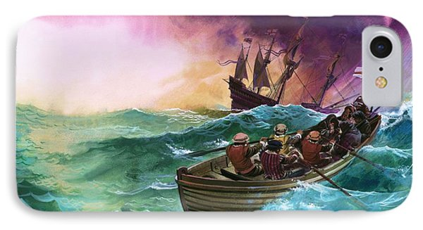 Shipwrecked Sailors IPhone Case by Andrew Howat