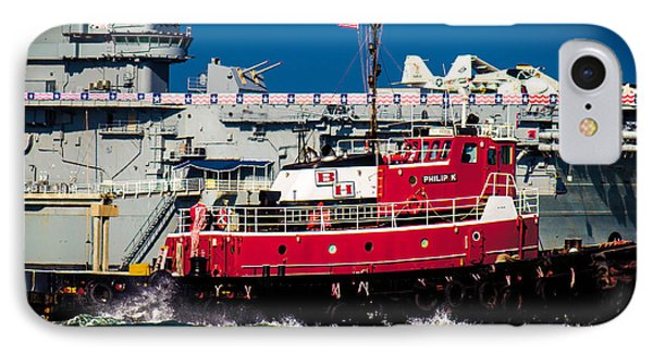 IPhone Case featuring the photograph Shipping Lane Hero by Bartz Johnson