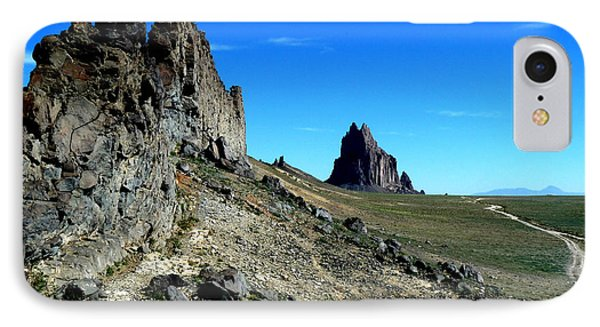 IPhone Case featuring the photograph Shiprock by Alan Socolik