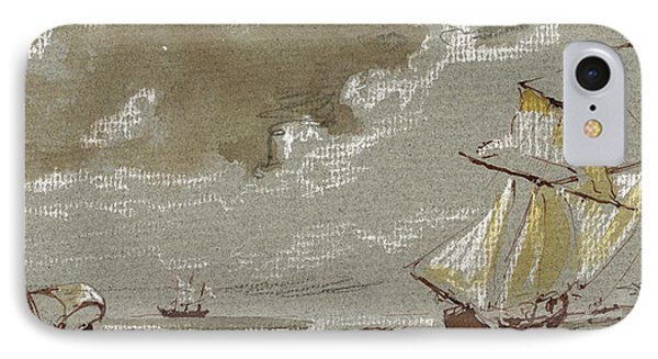 Ships On Storm IPhone Case