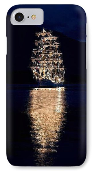 Ships That Pass In The Night IPhone Case
