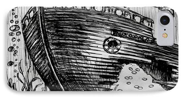 Shipwreck IPhone Case by Salman Ravish