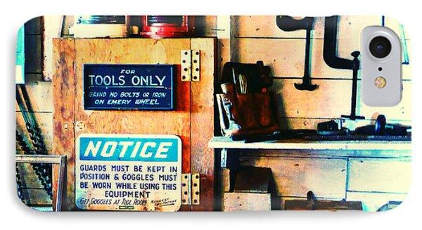 Shipyard Carpentry IPhone Case