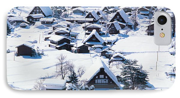 Shirakawagou Gifu Japan IPhone Case by Panoramic Images