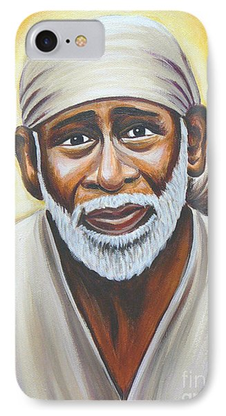 Shirdi Sai Baba Phone Case by Gayle Utter