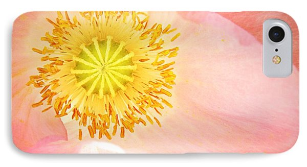 Shirley Poppy Center Phone Case by Chris Berry