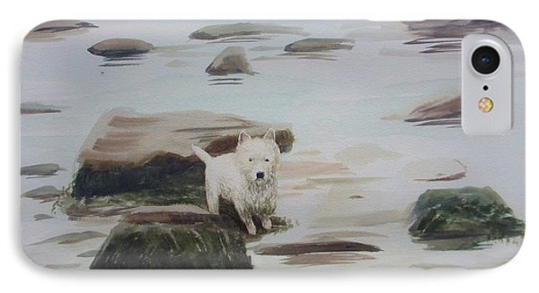 Shirley's Dog IPhone Case by Martin Howard