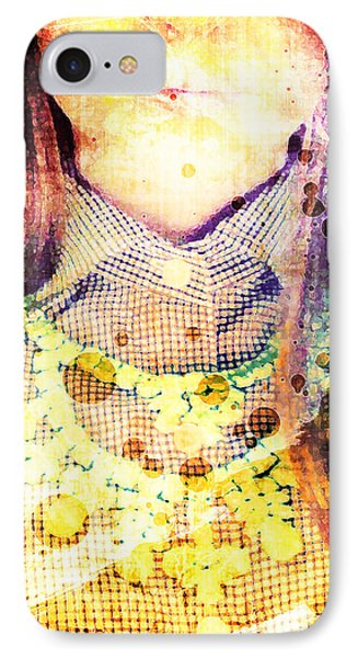 Shirt And Necklace IPhone Case by Andrea Barbieri