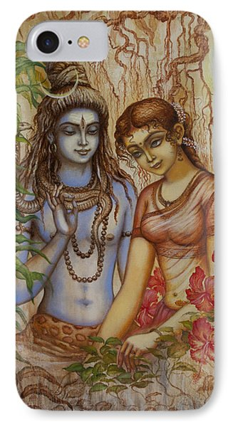 Shiva And Parvati IPhone Case