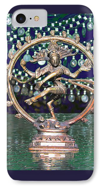 Shiva Upon The Water IPhone Case by Susan Alvaro