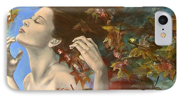 Shivers IPhone Case by Dorina  Costras
