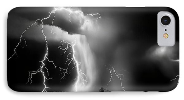 Shock Attack IPhone Case by Roch Hart