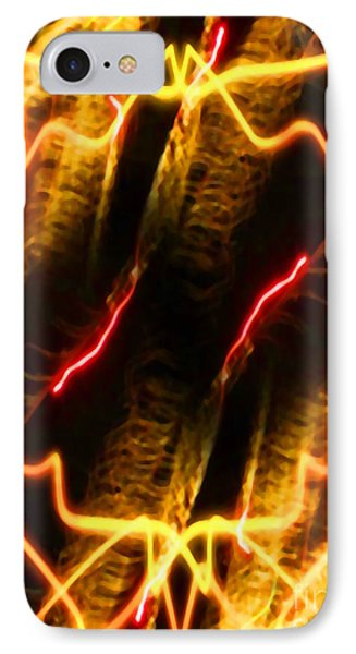 Shock Treatment IPhone Case by Gayle Price Thomas