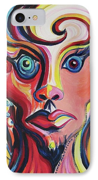 Shocked IPhone Case by Suzanne  Marie Leclair
