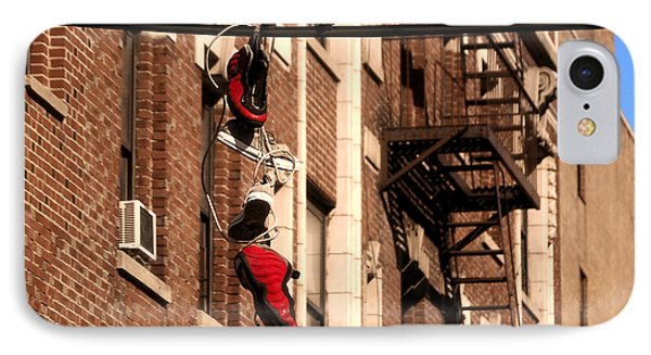 Shoes Hanging IPhone Case by RicardMN Photography