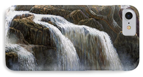Shohola Falls IPhone Case by Gregory Perillo