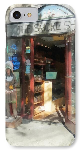 Shopfronts - Smoke Shop Phone Case by Susan Savad