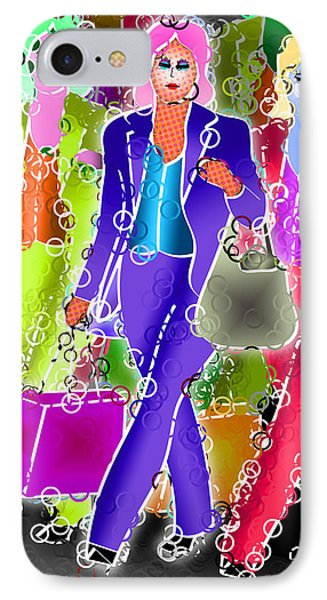 Shopping Phone Case by Stephen Younts