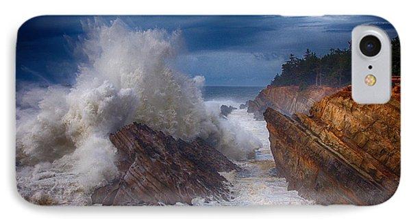 Shore Acre Storm Phone Case by Darren  White