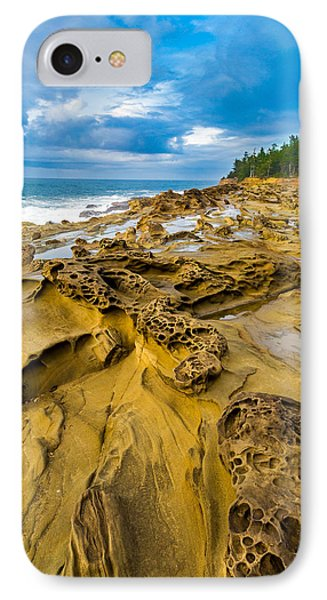 Shore Acres Sandstone IPhone Case by Robert Bynum