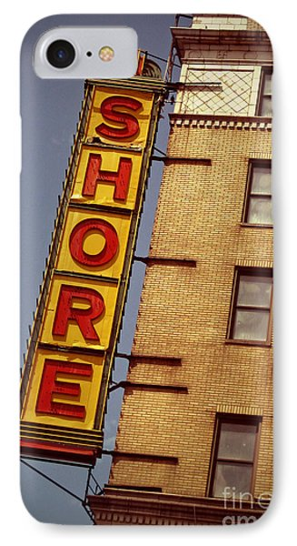 Shore iPhone 7 Case - Shore Building Sign - Coney Island by Jim Zahniser