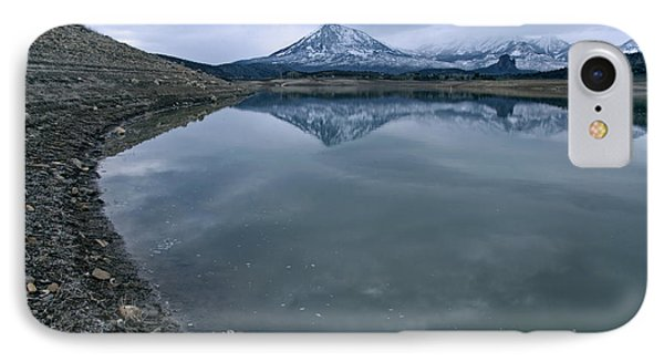 Shoreline And West Elk Mountains IPhone Case by Eric Rundle