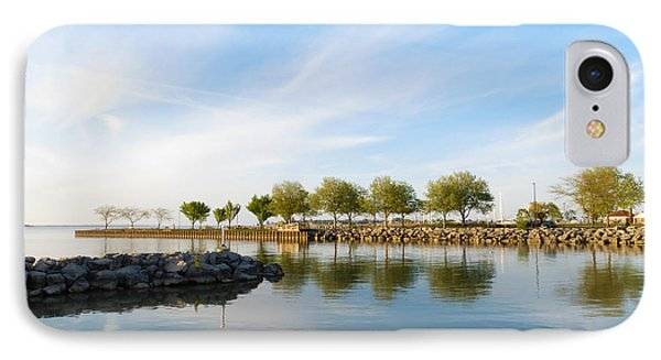 Shoreline Park IPhone Case by Shawna Rowe