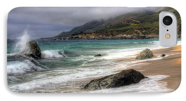 Shores Of Big Sur IPhone Case by Shawn Everhart