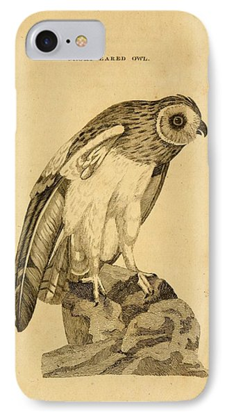 Short-eared Owl IPhone Case by Philip Ralley