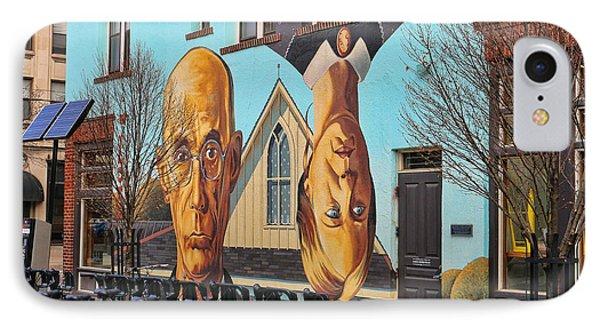 Short North Mural 4673 Phone Case by Jack Schultz