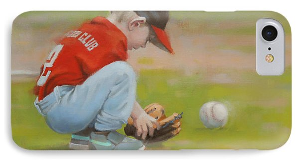Short Shortstop IPhone Case by Todd Baxter