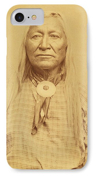 IPhone Case featuring the photograph Shoshone Chief Washakie by Paul Ashby Antique Image