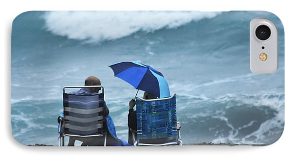 IPhone Case featuring the photograph Shoulda Brought A Bigger Umbrella by Don Durfee