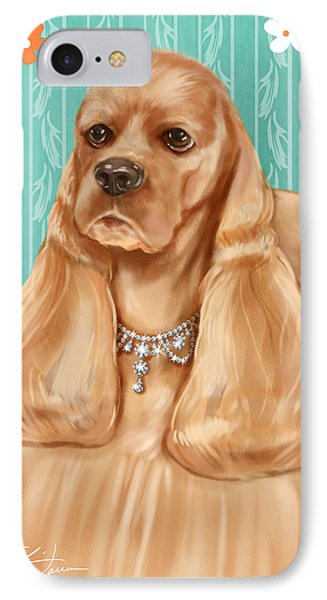 Show Dog Cocker Spaniel IPhone Case