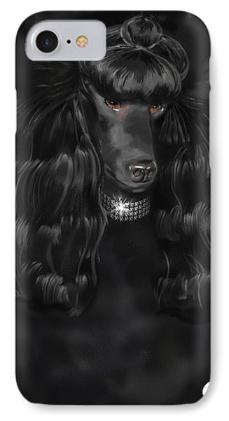 Show Dog Poodle IPhone Case